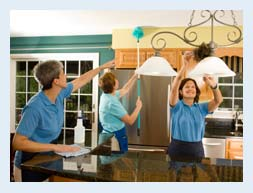 Image of Truckee cleaning crew for cleaning services page